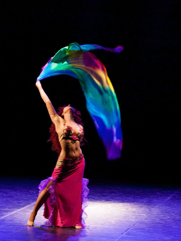 Danza orientale a Roma, Ostia e dintorni