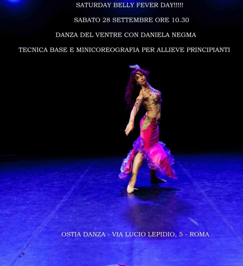 Corso danza del ventre Ostia (Roma)